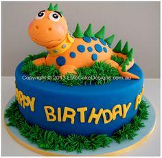 Cakes on pinterest dinosaur cake dinosaur train cakes and dinosaur