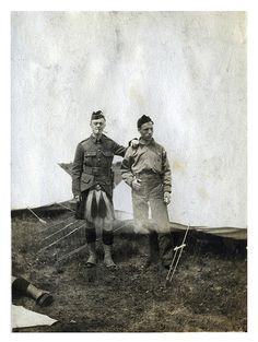 Canadian WWI Seaforth Highlanders at Camp