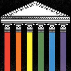 "On the occasion of Monday's gay-marriage decision, Jeffrey Toobin considers the rest of the Supreme Court's term, ""in which the prospects for progressive victories look slim indeed."" http://nyr.kr/1t1kz0a (Illustration by Matthew Hollister)"