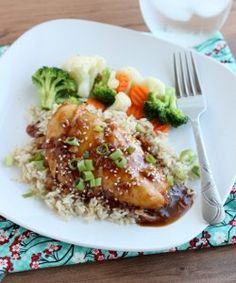 Add some Asian flair to your dinner this week with this recipe for Slow Cooker Asian Sesame Chicken. Easy chicken breast recipes like this take very little time to prepare, but pack in tons of flavor and goodness.