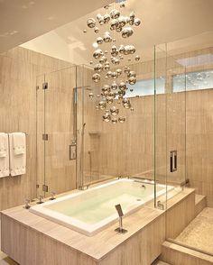 Funky shaped bathroom lighting fixture