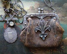 coins, clutch purse, beach bags, de lis, coin purses, leather bags, hobo bags, leather purses, vintage purses
