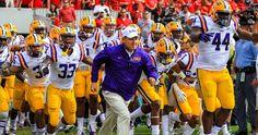 NCAA Football: Louisiana State at Georgia