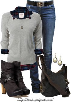 """""""Layers for Fall"""" by dlp22 on Polyvore"""