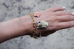 DIY: Enamel charm bracelet