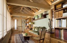 Asian family room by G. Steuart Gray AIA