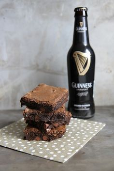 Guinness Brownies by Heather Christo, ... yum!