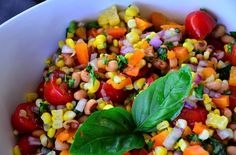 Bush's Blackeye Peas Fresh Corn Summer Salad