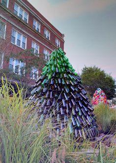 Wine Bottle Tree!