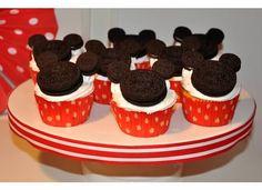 easy mickey cupcakes