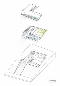 L House / Architects Collective axonometric – ArchDaily