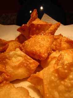 The Fanciful Fig: Westie's Cream Cheese Wontons