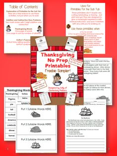 Elementary Matters: Sometimes You Just Need Something Quick! Freebie!
