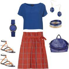 I <3 Orange & Blue