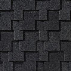 Charcoal #gaf #designer #roof #shingles #swatch