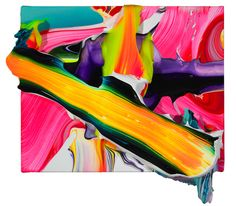 Yago Hortal creates vibrant paintings that come off the canvas