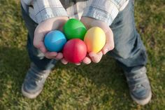 non-candy ideas for egg hunts