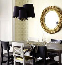 light fixture and gold seat upholstery