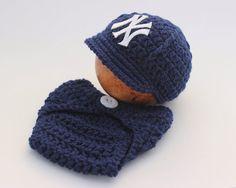 NY Yankees Crochet Graph Afghan Pattern - Afghans