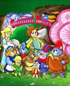 Gummi Bears - Bouncing here and there and everywhere!