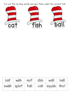 Dr. Seuss word wall