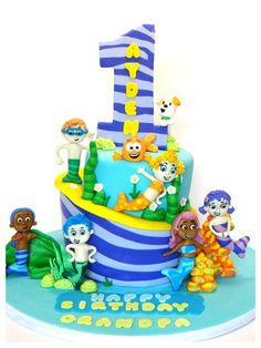 Bubble Guppies  Cake by BellaCakes & Confections