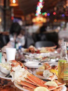 the crab shack on tybee island