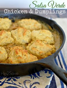 Salsa Verde Chicken & Dumplings