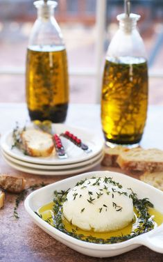 Goat Cheese in Infused Olive Oil at This Mama Cooks! On a Diet - thismamacooks.com #daretocarbonell #ad