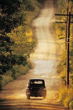 Makes me wanna take a back road, makes me wanna take the long way home...