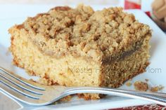 Mostly Homemade Mom: Cookie Butter Coffee Cake