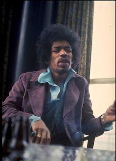 Jimi Hendrix, 1969.