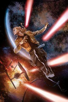 Star Wars 6 - Lucas Draft by Nick Runge