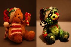 Zombified Holiday Decor from Jo Anne of Crafting for Cheapskates #zombie