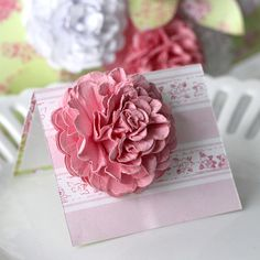 With a Grateful Prayer and a Thankful Heart: Paper Flowers...great tutorial
