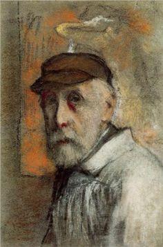 Self-Portrait - Pierre-Auguste Renoir