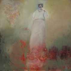 White Frock...judy thorley
