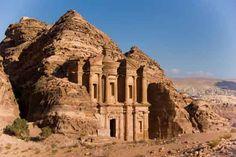 10 Most Famous Wonders of The World - Petra, Jordan