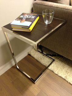 New side table in Michael Strahan's dressing room.  #KellyandMichael