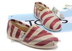 striped TOMS