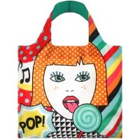 Loqi Water Resistant Reusable Bag POP #Lollipop