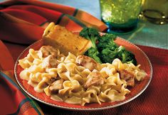 Country-style home cooking doesnt get any better than this satisfying dish of cooked chicken, Parmesan cheese and hot pasta in a creamy sauce.