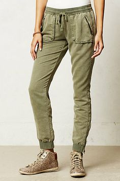 Anthropologie slouchy pants
