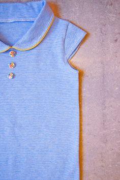 T-shirt met kraagje