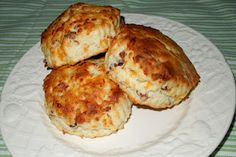 Cheezy-Bacon Cream Biscuits Melissa's Southern Style Kitchen
