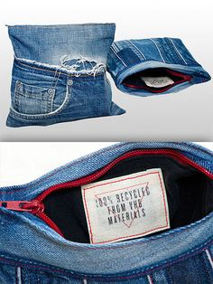 Recycled! #jeans  #repurposed #denim