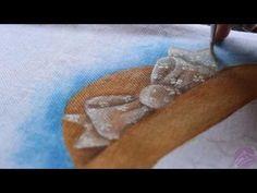 Eliane Nascimento: Minhas dicas de pintura - Laço transparente - YouTube