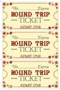 Free Christmas Printable! This site has all these cute Christmas ideas! This is from day 1 - you surprise your kids with a Christmas adventure and give them these tickets so they can jump in the car and go looking at Christmas lights on houses! #Free #Printable #Christmas