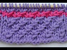 ▶ How to Knit * Star stitch * Knitting stitch - YouTube