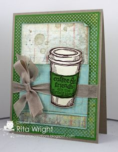 Rita's Creations: Stampin' Up! Perfect Blend for Mojo Monday